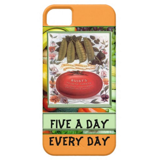 Five a day, every day iPhone 5 covers