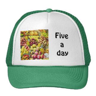 Five a day trucker hat