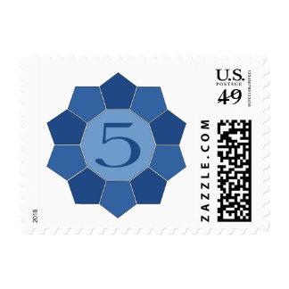Five Alive Postage Stamp
