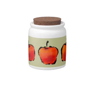 Five Apples jar