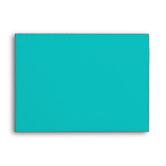 Five Arms Spiral Turquoise brushed metal texture Envelope