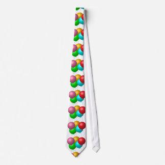 Five Birthday Balloons Tie