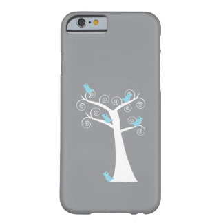 Five Blue Birds in a Tree Case iPhone 6 Case