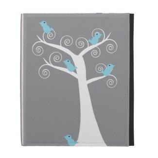 Five Blue Birds in a Tree Caseable Case