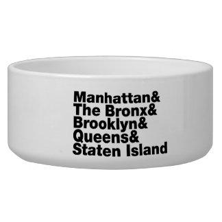 Five Boroughs ~ New York City Bowl