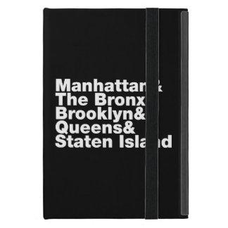 Five Boroughs ~ New York City Covers For iPad Mini