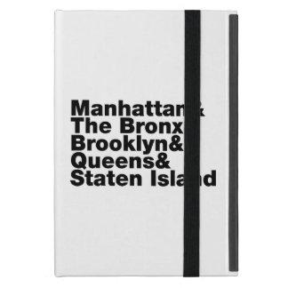 Five Boroughs ~ New York City iPad Mini Cover