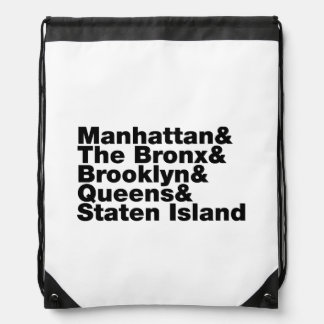 Five Boroughs ~ New York City Backpack