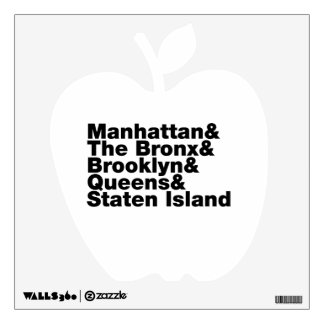 Five Boroughs ~ New York City Wall Decals