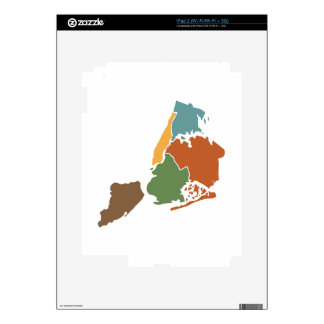 Five Boroughs New York Skin For The iPad 2