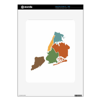 Five Boroughs New York Skins For The iPad