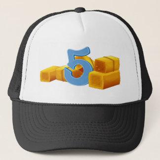 Five bundles of hays trucker hat