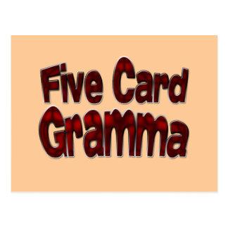 Five Card Gramma drk