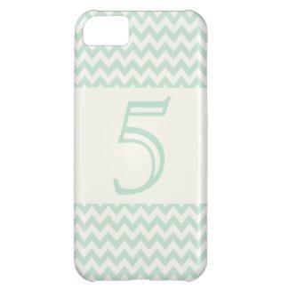 Five Chevron Pattern iPhone 5 Case