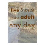 Five Children Note Cards