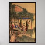 Five Chinese Ladies Print