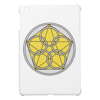 Five Circle Star1 iPad Mini Cover