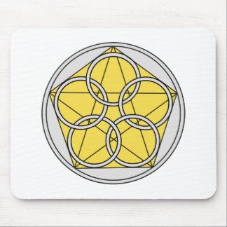 Five Circle Star1 Mouse Pad