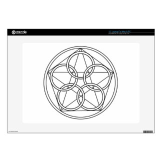 Five Circles Star Skins For Laptops
