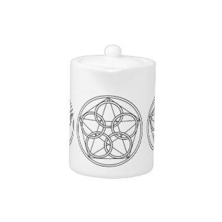 Five Circles Star Teapot