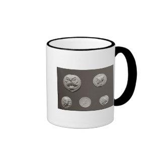 Five coins ringer mug
