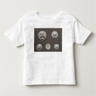 Five coins toddler t-shirt