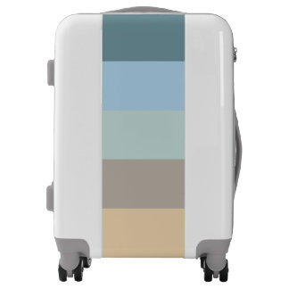 Five Colors -  Blue Brown Sand Beige Turquoise Luggage