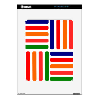 five colors skin for iPad