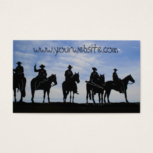 Five Cowboys Business cards