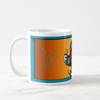 Five Eagles zazzle_mug