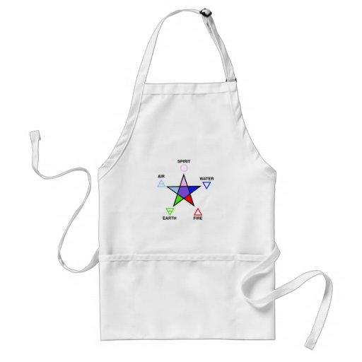 Five_elements_and_pentagram Delantal