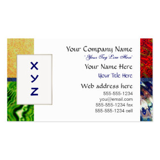 Five Elements Business Card Template