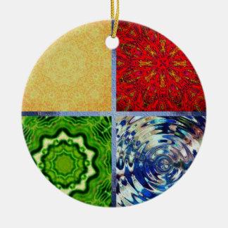 Five Elements Christmas Tree Ornaments