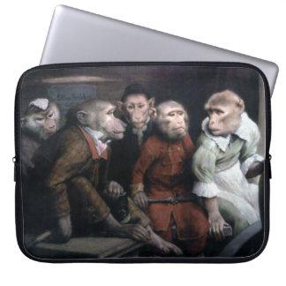 Five Fancy Monkeys Laptop Computer Sleeve