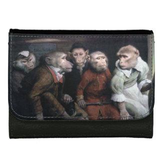 Five Fancy Monkeys Leather Wallets