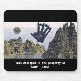 Five Fingers Surreal Mousepad Mousepad