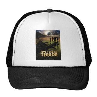 Five Flee in Terror Hat
