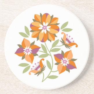 Five Flowers coaster