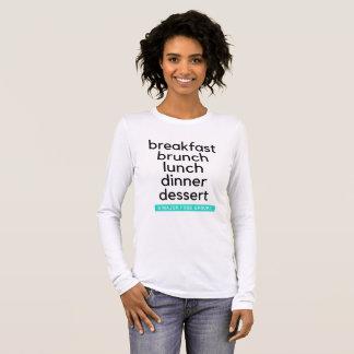Five Food Groups Long Sleeve T-Shirt