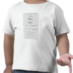 Five Genuine Autographs of William Shakespeare Tees
