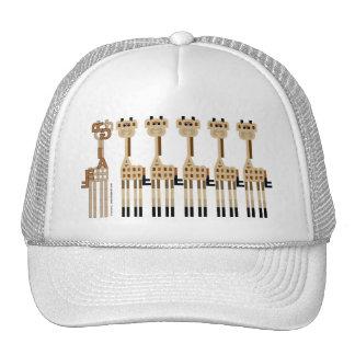 Five GIRAFFES Plus One Trucker Hat