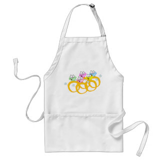 Five Gold Rings Adult Apron