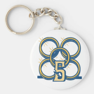 Five Gold Rings! Keychain