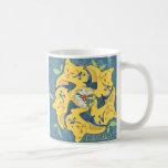 Five Golden Cats (holiday mug)