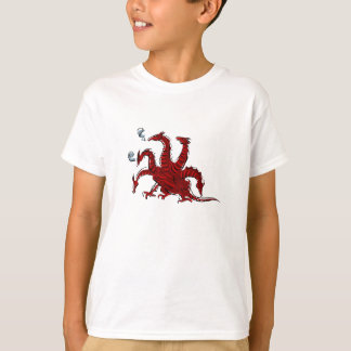Five headed red dragon T-Shirt