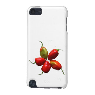 Five Hot Habanero Peppers Photograph iPod Touch (5th Generation) Cover
