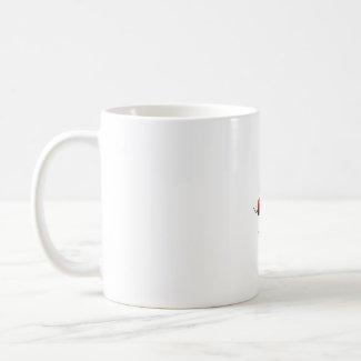 Five Hot Habanero Peppers Photograph mug