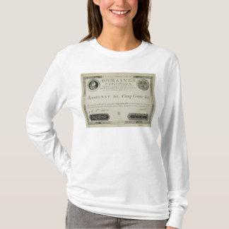 Five hundred livres banknote, 19th June 1791 T-Shirt