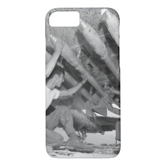 Five-inch rockets being loaded under_War image iPhone 7 Case