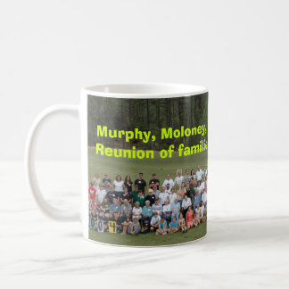 Five Irish Family Reunion 2004, Murphy, Moloney... Classic White Coffee Mug
